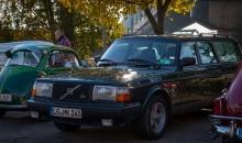 Volvo-Treffen Oldtimertankstelle 2016