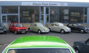 Abgrillen VW Classicparts Center Wolfsburg 2011