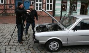 Fotoshooting Auto Bild Klassik 2008