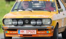 VW Passat bei der Cuxland-Oldtimer-Rallye 2012
