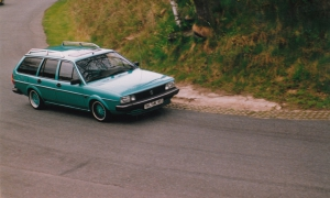 Fahrertraining Heidbergring 1992