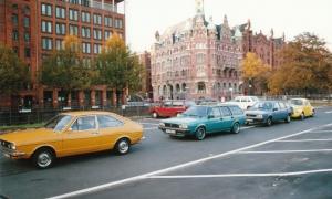 VW Passat-Treffen Hamburg 1991