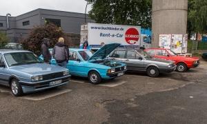 VW Passat-Treffen Oldtimertankstelle Hamburg 2017