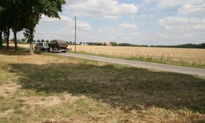 VW Passat-Schlachtung im Münsterland