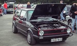 VW Golf 1 - Treffen Braunschweig 2002