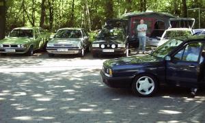 VW Passat-Treffen Maschen 2001