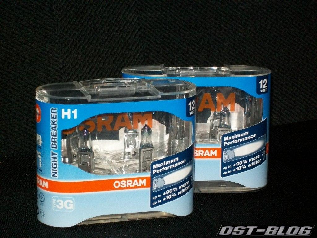 osram nightbreaker H1
