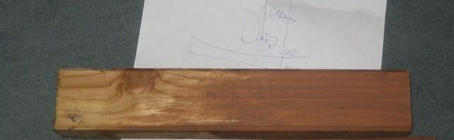 Holz Zeichnung