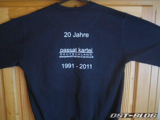 PKD-Shirt Rückseite