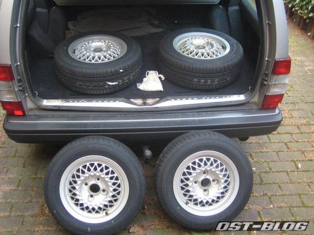 Rial mit Reifen