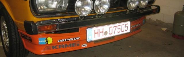 Passat 32 1976 Rallye aufkleber front