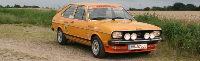Passat 32 1976 Rallye rollout