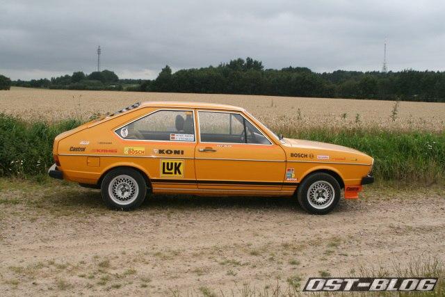 Passat 32 1976 Rallye rollout rechts