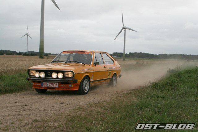 Passat 32 1976 rallye schotterpiste