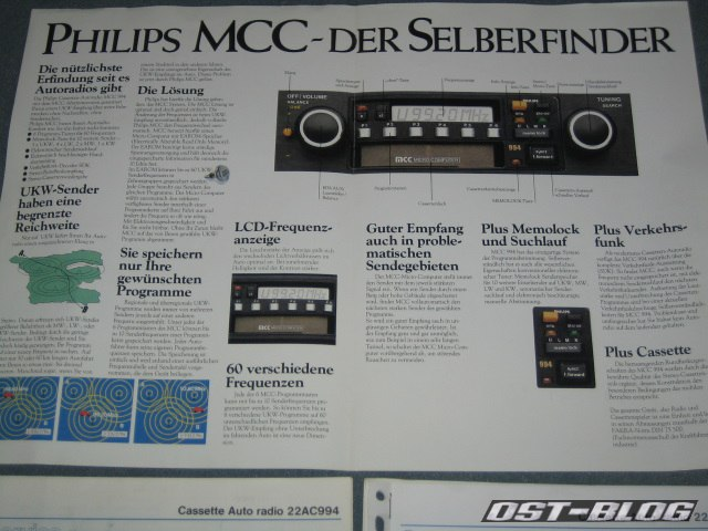 Philips 994 selberfinder prospekt