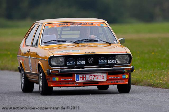Passat 1976 Rally 32 Apensen Charity Classic 2011
