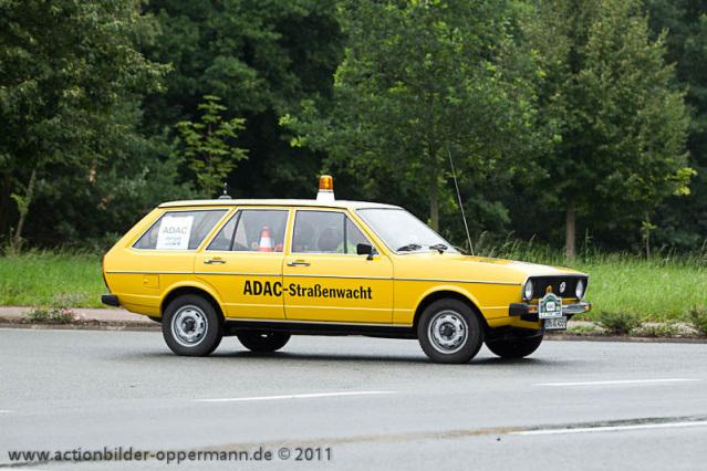 Passat Variant ADAC 1976 Rally 33 Apensen Charity Classic 2011