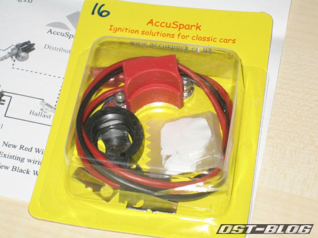 AccuSpark ignition Zündanlage