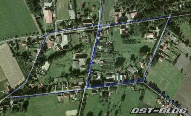 Apensen Charity 2011 Brest Track