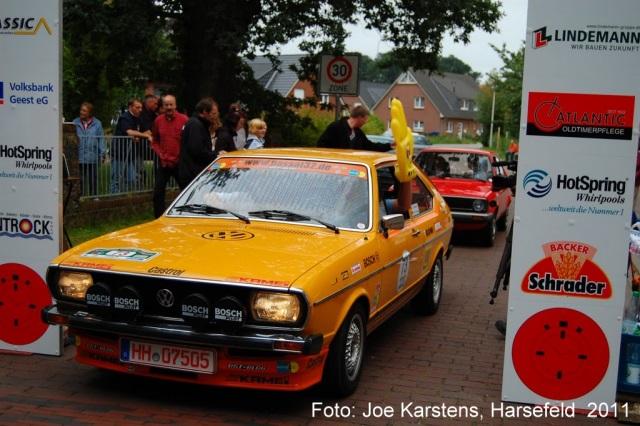 Passat 32 1976 Rallye Apensen Charity 2011 Ziel