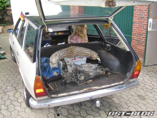 Passat variant 33 1974 Getriebe