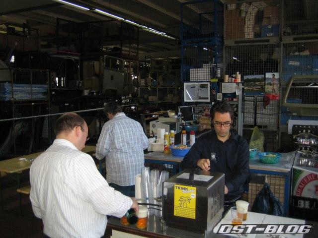 Classic Parts Center Wolfsburg Tresen