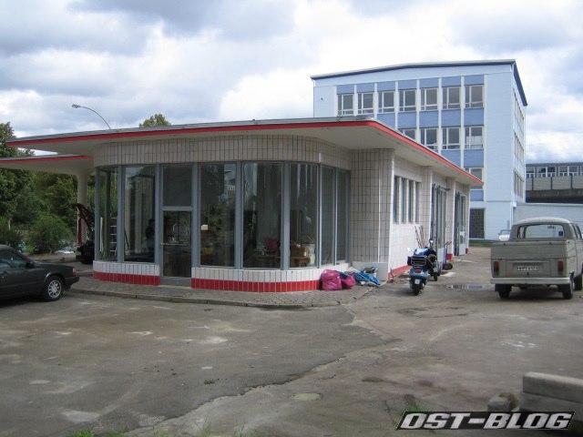 Oldtimer-Tankstelle Brandshof