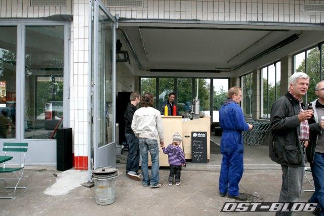 Oldtimer-Tankstelle Hamburg