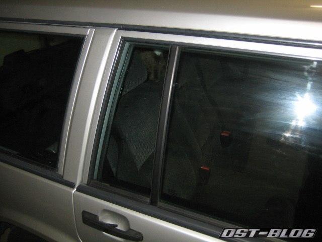 Türfenster Volvo 940 Einbau fertig