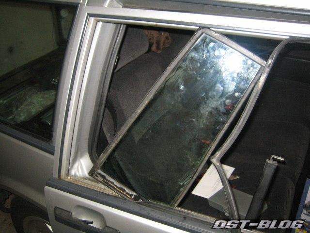 Türfenster Volvo 940 Einbau