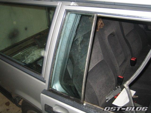 Türfenster Volvo 940 Montage