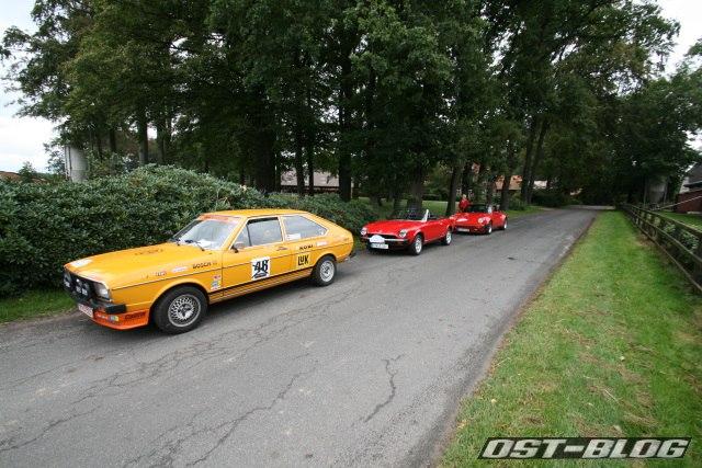 zeitkontrolle Rallye Rotenburg