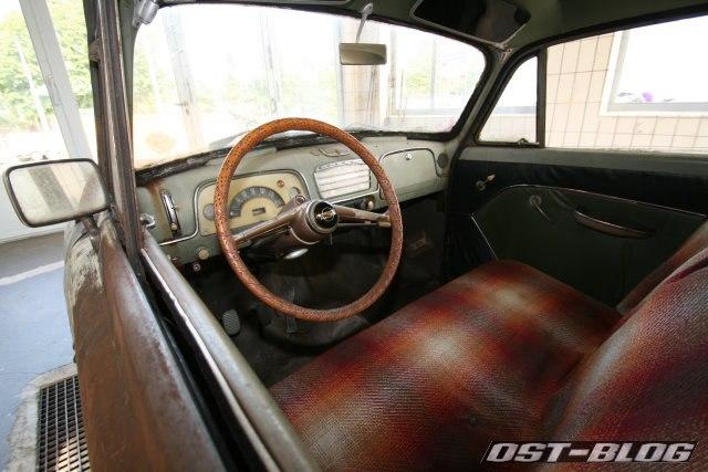 Opel Olympia oldtimer-tankstelle 1