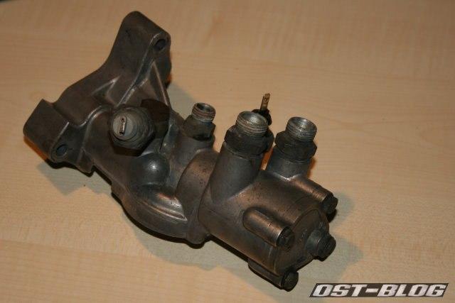 Ölfilterhalter Audi 80 SB spät