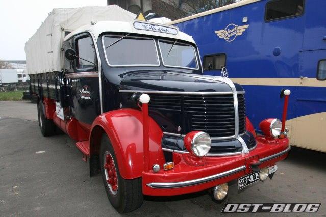 Krupp Oldtimer Lkw