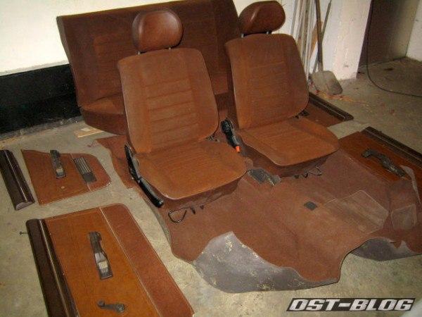 Passat GLS 32 Sitze Teppich Türverkleidung