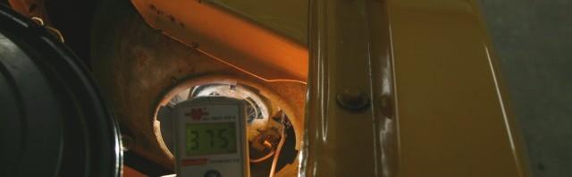 Temperatur Lösung