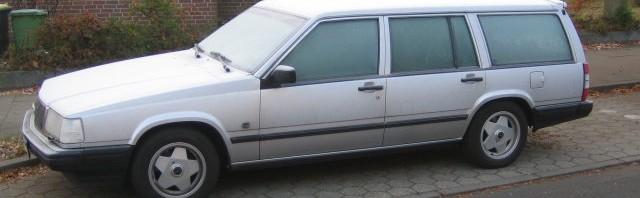 Wintereinbruch Volvo 940