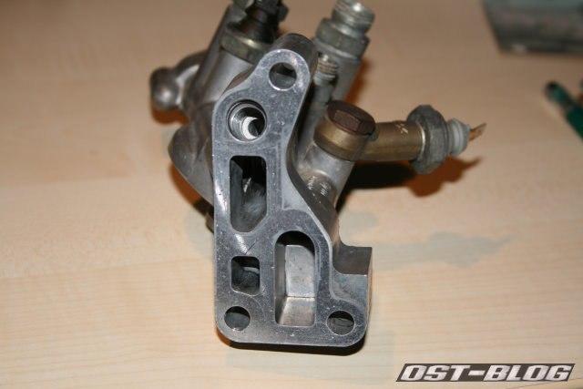 Ölfilterhalter Flansch Audi 80 SB spät