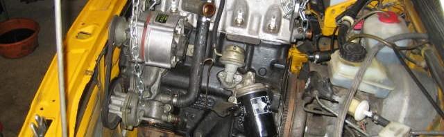 Motorausbau Motorraum passat 32 1976