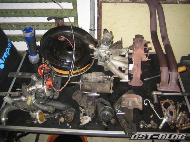 Passat 1976 Anbauteile Motor