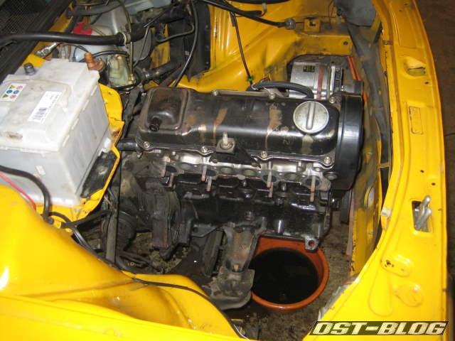 Passat 1976 motor anbauteile