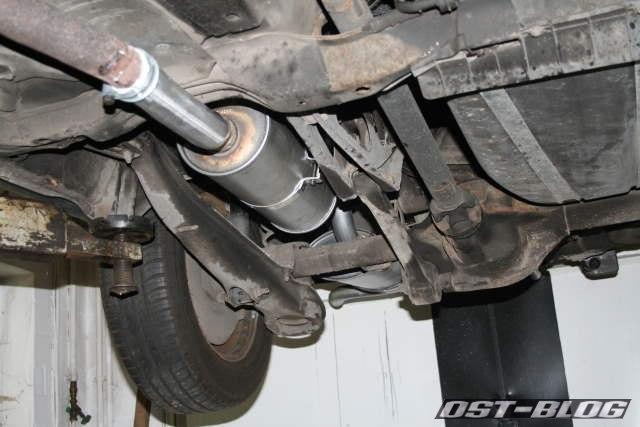 Auspuff Volvo 940