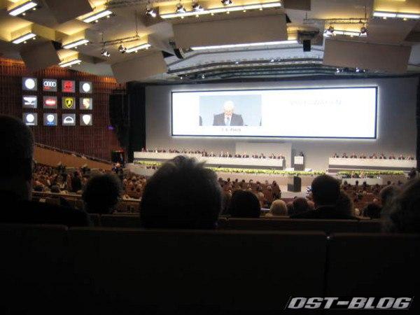 CCH Hamburg VW Hautpversammlung Saal