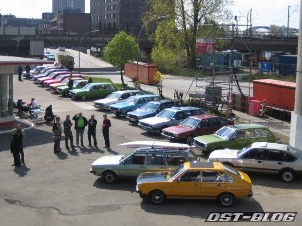 Passat-Treffen Hamburg Oldtimer-Tankstelle 1