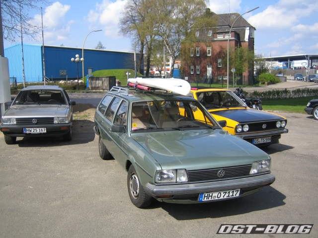 Passat-Treffen Hamburg Oldtimer-Tankstelle 3