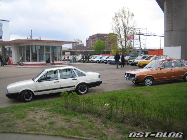 Passat-Treffen Hamburg Oldtimer-Tankstelle 4