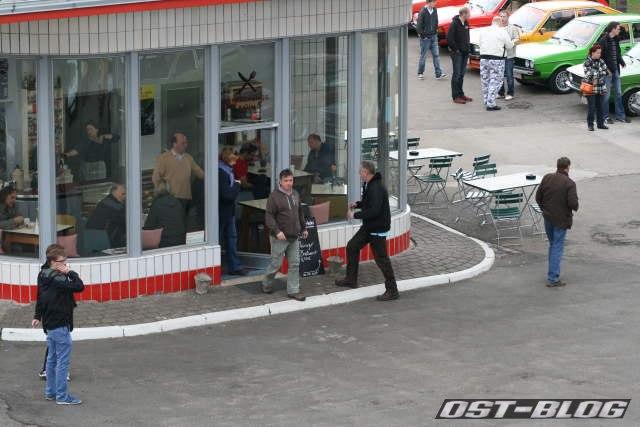 Passat-Treffen Hamburg Oldtimer-Tankstelle Erfrischungsraum