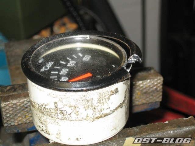 VDO Öltemperaturanzeige Ring