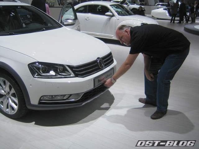 VW Passat Alltrack Lüftungsgitter